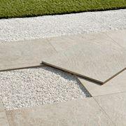 Non-slip tiles for outdoors