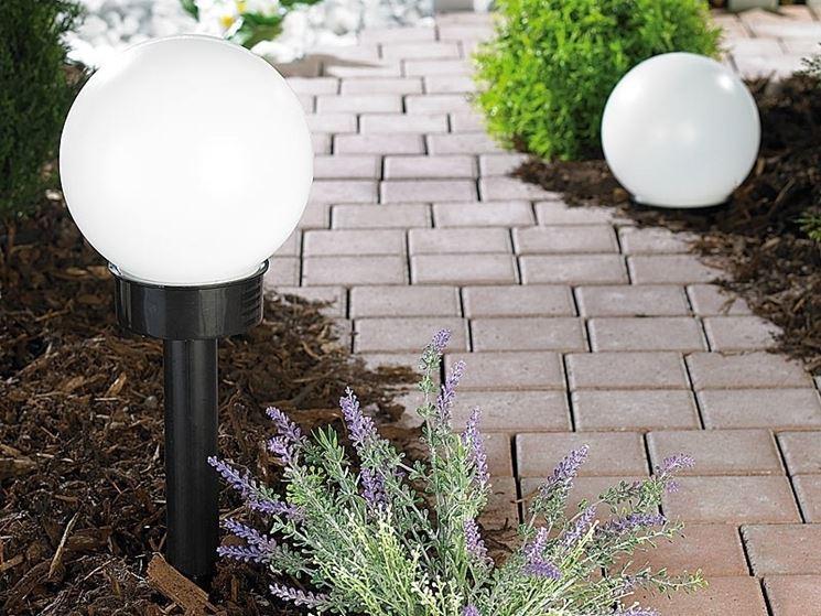 External twilight sensor installed in the garden