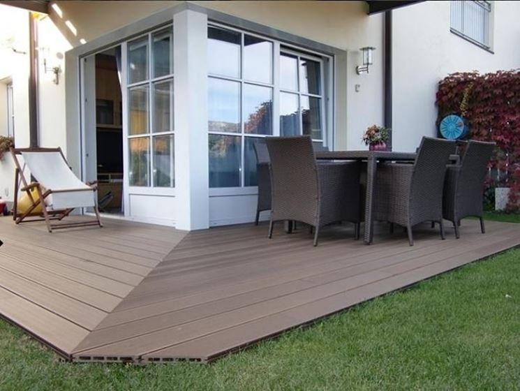 Floor outside the house
