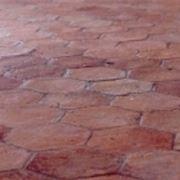 antique terracotta floor