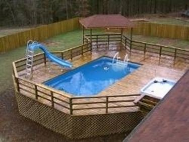 How to make a do-it-yourself swimming pool