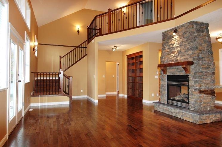 An elegant wooden floor