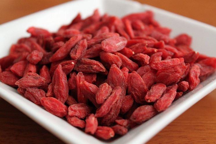 Lycium barbarum dried berries