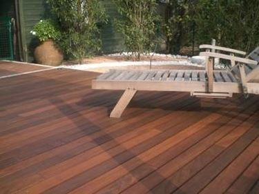 Wood floors for outdoors