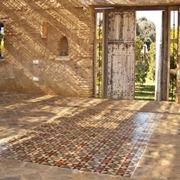 Example of outdoor flooring.