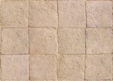 Ancient terracotta floors