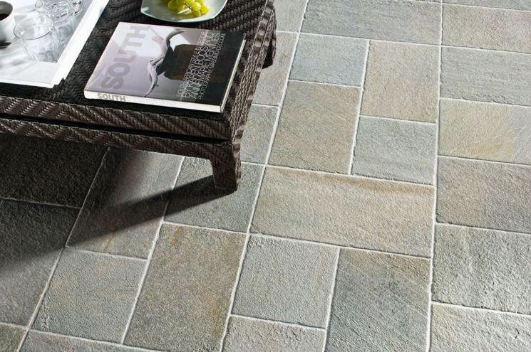 Example of external flooring
