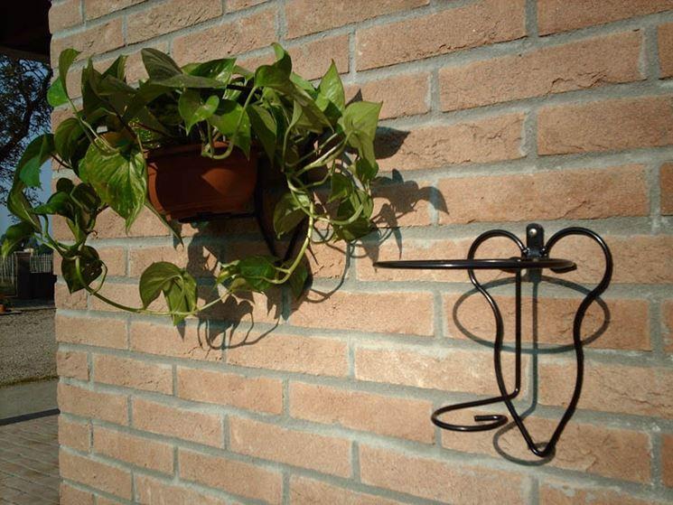 wrought iron planters
