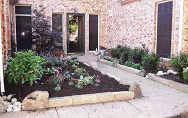 border for flower bed