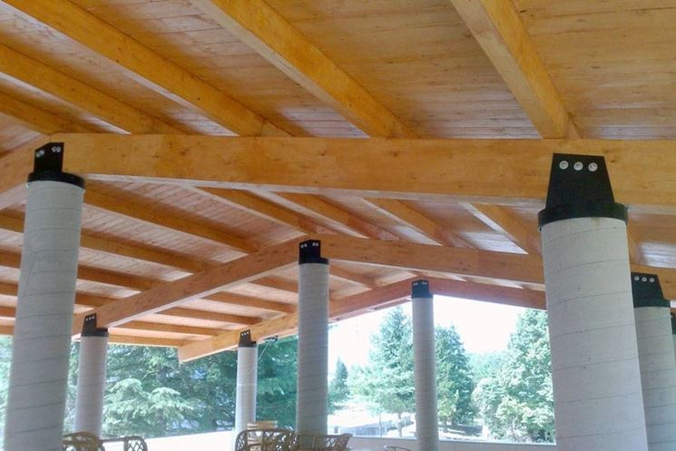 An example of a glulam shed