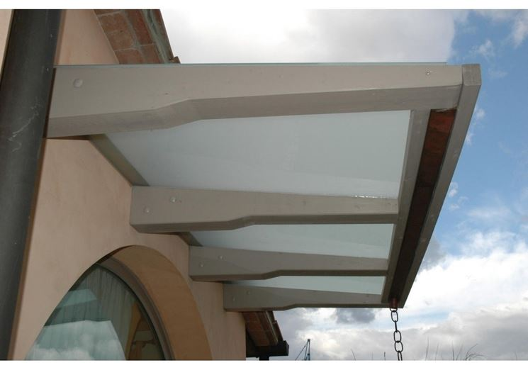 glass canopy cover