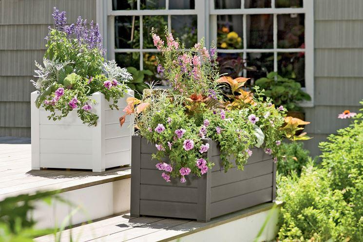 terrace vases