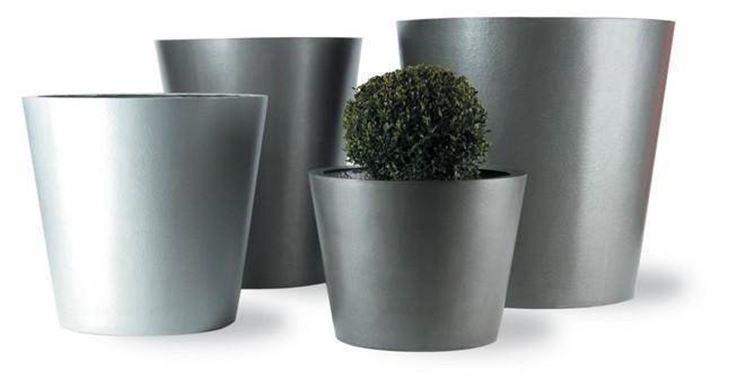 aluminum garden pots