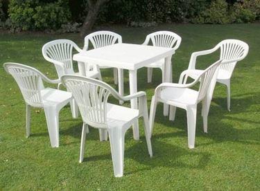pvc garden chair