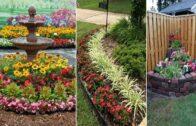 56 eye-catching petunia centerpiece garden design and courtyard landscape design ideas | DIY garden