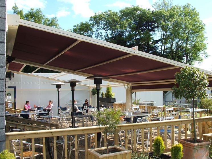 canopy for terrace