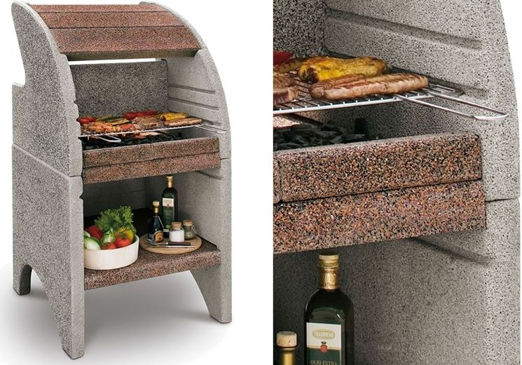 """A refractory <strong> concrete barbecue </strong>"""" width=""""745″ height=""""521″ longdesc=""""/arredo-giardino/barbecue/barbecue-in-cemento.asp""""/></div> <p> <img loading="""