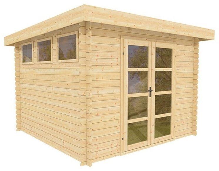 Wooden house for garden