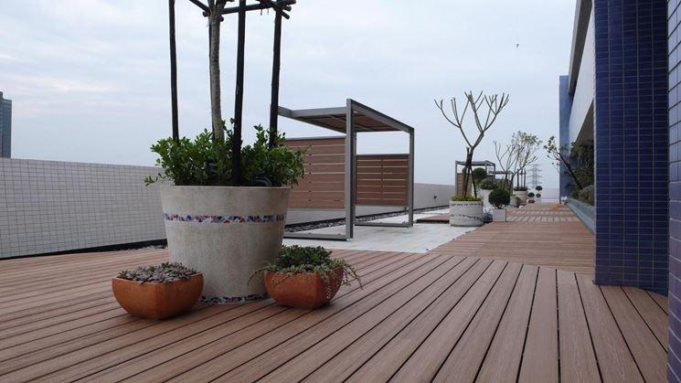 Outdoor garden flooring