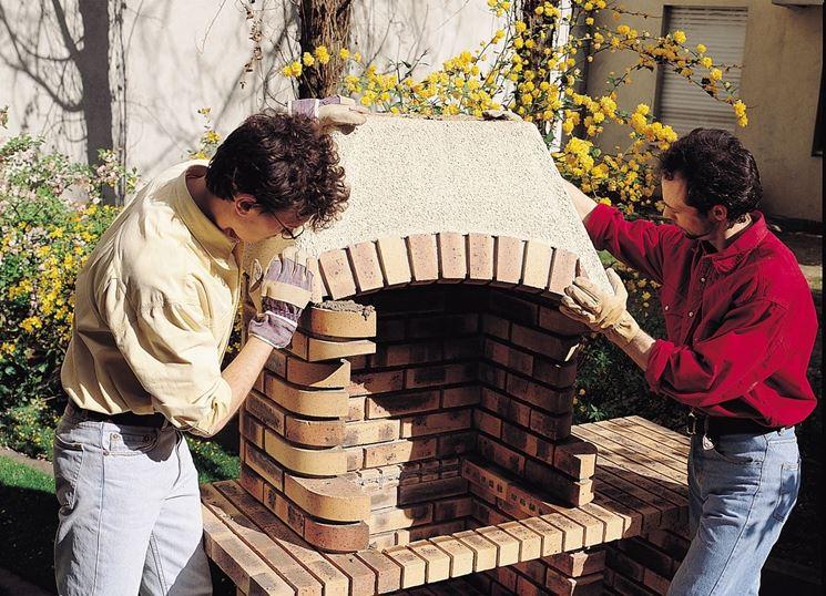 brickwork barbecue