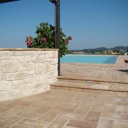Example of outdoor porcelain stoneware