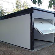 Single prefabricated garage