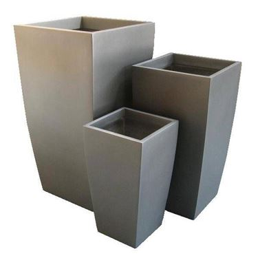 fiberglass vases