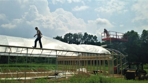 Hydroponic Greenhouse Build From Start to Finish