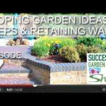 Garden Design Exhibition 7-Inclined Garden Ideas, Steps and Retaining Walls