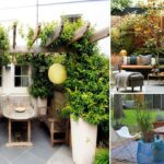 100 cool small terrace ideas and decorations | garden ideas