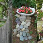 30 simple and rustic DIY ideas for backyards and gardens | Garden Ideas