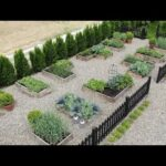 My vegetable garden layout and tour! 👩🌾🥦🍓// Garden Answer