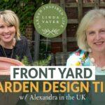 🇬🇧 Frontyard garden design tips and Alexandra's medium-sized garden in the UK || Linda Watt