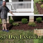 One day landscape work-E2-Simple low maintenance design
