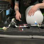 True HPA system parts. Quick overview of how to assemble a high pressure aeroponic system.