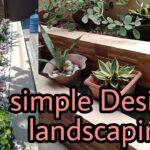 DIY simple landscaping design ideas/#Landscaping #design