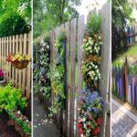 More than 30 beautiful garden fence decoration ideas for DIY garden