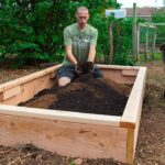 How to build a raised bed is cheap and easy, backyard gardening