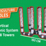 DIY : How to make Vertical Hydroponic System using 8 Towers (Part 1)