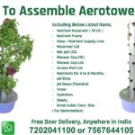How to Assemble Aerotower 32 ( Installation of Vertical Aeroponic System ).