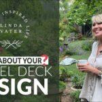 ⁉️🍃⁉️ GRAVEL DECK garden design|| Linda Watt