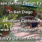 Landscape garden design examples, San Diego, Mediterranean Water Garden, Kobe Garden Alchemy